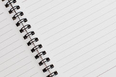 De eenvoudige textuur van het notaboek royalty-vrije stock foto's