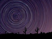 De eenvoudige vector van sterren vindt cirkels op de hemel Royalty-vrije Stock Foto