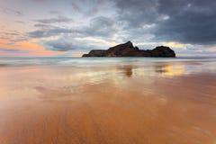 De Eenzaamheid van de zonsopgang Stock Afbeelding