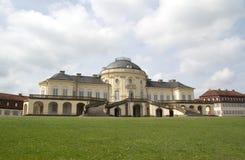 De Eenzaamheid van het paleis Stock Foto