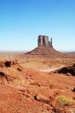 De eenzame Vallei van het Monument Stock Afbeelding