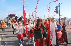 De Eerlijke parade van de StLeonardsvorst Stock Foto