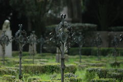 De eerste begraafplaats van de wereldoorlog Stock Foto's