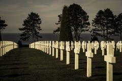 De eerste begraafplaats van de wereldoorlog Royalty-vrije Stock Foto's