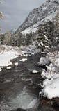 De eerste dag van de winter. Royalty-vrije Stock Afbeelding