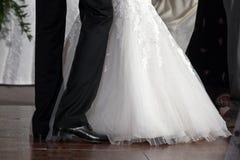 De eerste dans van het huwelijk royalty-vrije stock afbeelding