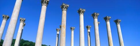 De eerste Kolommen van het Capitool stock afbeelding