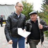 De Eerste minister van de Oekraïne Arseniy Yatsenyuk _2 Royalty-vrije Stock Foto's