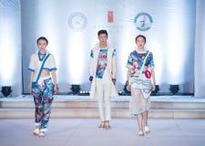 De eerste reeks van Shang Gu-Fashion Show Royalty-vrije Stock Afbeelding