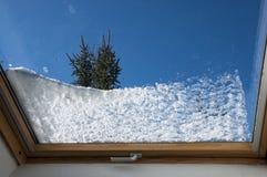 De eerste sneeuw stock afbeeldingen