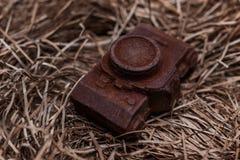 De eetbare camera van de noname nobrand chocolade huidig voor fotograaf royalty-vrije stock fotografie