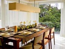 De eetkamer van de luxe Royalty-vrije Stock Afbeelding