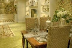 De eetkamer van de luxe Stock Foto