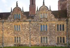 15de eeuw van het Sevenoaks de Oude Engelse herenhuis Het klassieke Engelse zijhuis van het land Stock Foto