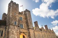 15de eeuw van het Sevenoaks de Oude Engelse herenhuis Het klassieke Engelse zijhuis van het land Stock Fotografie