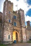 15de eeuw van het Sevenoaks de Oude Engelse herenhuis Het klassieke Engelse zijhuis van het land Royalty-vrije Stock Foto