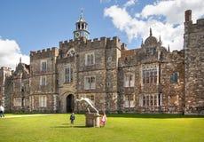 15de eeuw van het Sevenoaks de Oude Engelse herenhuis Het klassieke Engelse zijhuis van het land het UK Stock Afbeelding