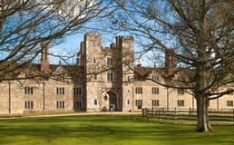 15de eeuw van het Sevenoaks de Oude Engelse herenhuis Het klassieke Engelse zijhuis van het land het UK Stock Foto's