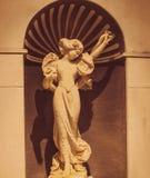 19de Eeuw van Italië van het zomer de Marmeren Exemplaar Royalty-vrije Stock Foto