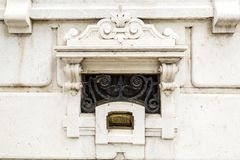 de 19de Eeuwdal Flor Palace stock fotografie