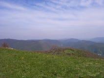 De eeuwigheid van het de bergenplateau van de hemelzon stock foto