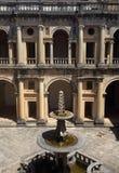 de 12de eeuwklooster van Christus in Tomar, Portugal De Plaats van de Erfenis van de Wereld van Unesco royalty-vrije stock afbeelding