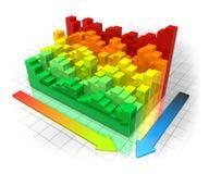 De efficiencyconcept van de energie Royalty-vrije Stock Afbeeldingen