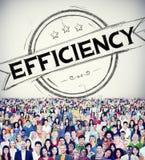 De efficiencyverbetering de Ontwikkelingsconcept van de Opdrachtmotivatie stock afbeelding
