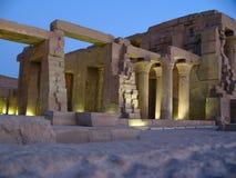 De Egyptische ruïnes Stock Foto