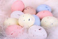 De eieren van de pastelkleur Royalty-vrije Stock Fotografie