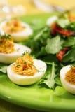 De eieren van Deviled Royalty-vrije Stock Foto