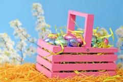 De eieren van het de lentesuikergoed stock foto