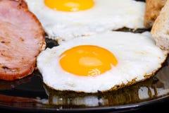 De eieren van het ontbijt Stock Foto
