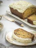 De eigengemaakte Cake van de Wortel Stock Afbeelding