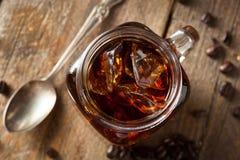 De eigengemaakte Koude brouwt Koffie stock afbeelding