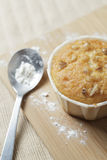 De eigengemaakte Muffin van de Banaanokkernoot Stock Fotografie