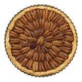 De eigengemaakte Pastei van de Pecannoot Stock Foto