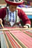 De eigengemaakte wol kleedt arbeider Royalty-vrije Stock Afbeelding