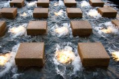 De Eigenschap van het water stock afbeeldingen