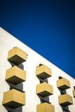 De eigentijdse bouw in Sant Cugat del Valles stock foto's