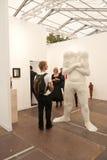 De Eigentijdse Kunst Eerlijk Londen van het fries. Stock Foto's