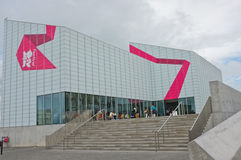 De Eigentijdse Kunstgalerie van de keerder, Margate Stock Afbeelding