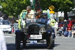 De eiken Parade van het Theekransje van de Baai op 4 Juni, 2011 Stock Foto