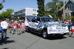 De eiken Parade van het Theekransje van de Baai op 4 Juni, 2011 Stock Afbeeldingen