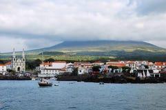 De eilanden van de Azoren Stock Foto's