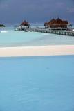 De eilanden van de Maldiven Royalty-vrije Stock Foto's