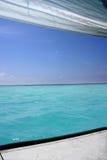 De eilanden van de Maldiven Stock Afbeeldingen