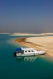 De eilanden van de Wereld in het onvolledige project van Doubai royalty-vrije stock foto's