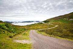 De Eilanden van de zomer, Schotland stock afbeelding