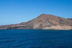 De Eilanden van de Galapagos, de Landschappen van Ecuador en Kustlijnen stock fotografie